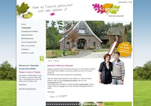 Website 't Keampke: www.keampke.nl