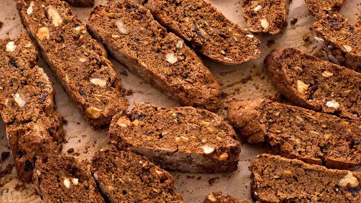 Bezglutenowe piernikowe biscotti