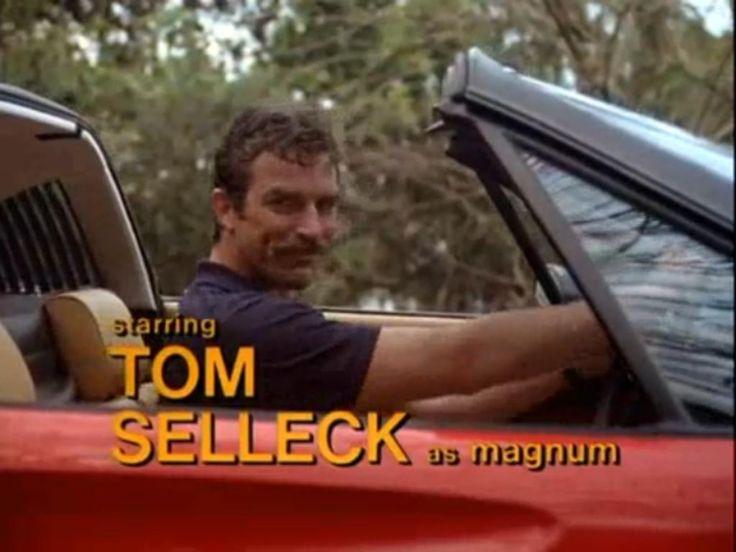 Tom Selleck as Magnum P.I.