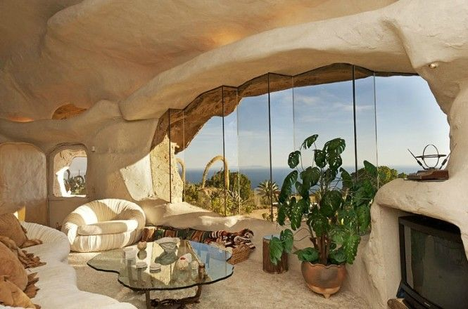 Flintstones Style House In Malibu..haha NO WAY!