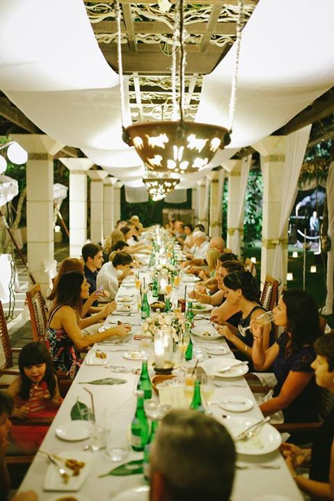 Ma Joly Restaurant in Bali, Indonesia.  Perfect location for the dream wedding!
