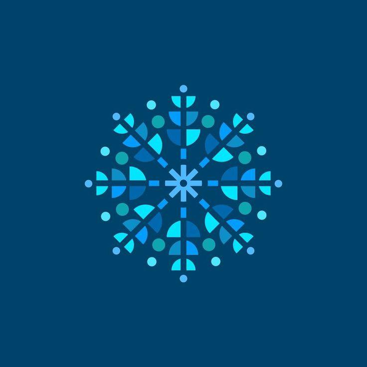 Snowflake icon design