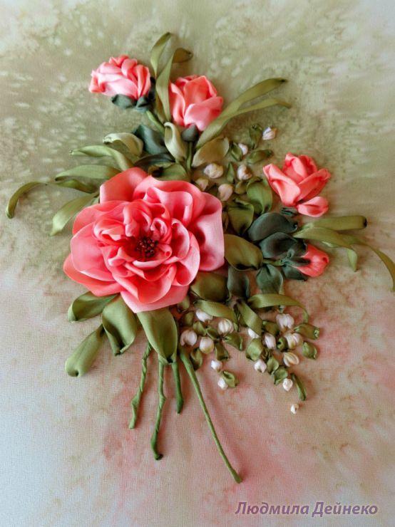 (1269) Gallery.ru / Оранжевые розы - Любимые розы - silkfantasy