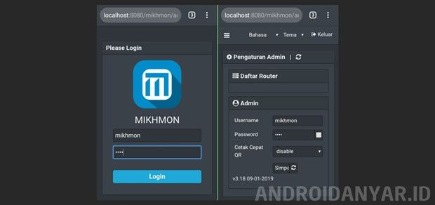Cara Instal Mikhmon Di Hp Android Termudah Tanpa Termux Router Android Coding