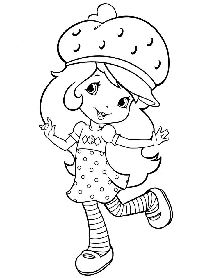 141 best Strawberry Shortcake coloring pages images on Pinterest