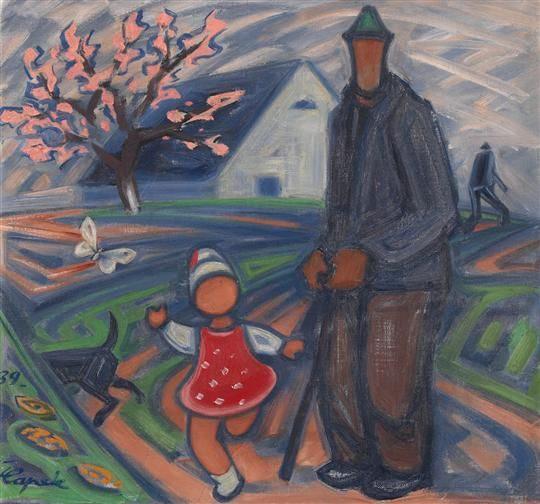JOSEF ČAPEK (1887-1945) Spring - Jaro, 1939