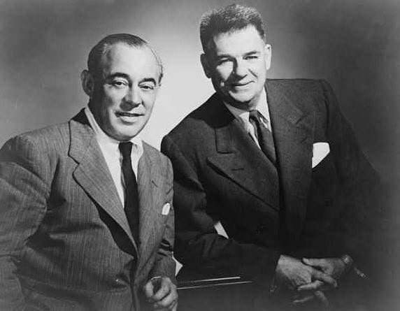"Richard Rodgers and Oscar Hammerstein II joined forces in 1943 to create the most successful partnership in American musical theatre. Not only was ""Oklahoma!"" the first Rodgers and Hammerstein musical, it was also the first of a new genre - the musical play. And it was all made possible by Claremore's own Lynn Riggs, who wrote ""Green Grow the Lilacs,"" which Rodgers and Hammerstein adapted to become the beloved musical. #trivia"