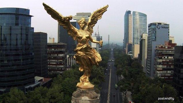 35. Ángel de la Independencia, Ciudad de México. Todo un símbolo del México contemporáneo, pero también de la milenaria historia de nuestra gran nación #ÁngelDeLaIndependencia #CiudadDeMéxico