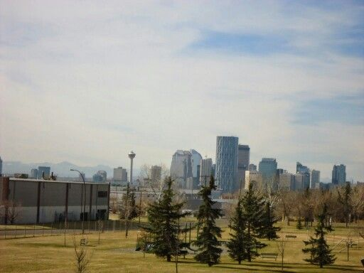 Calgary downtown NE side
