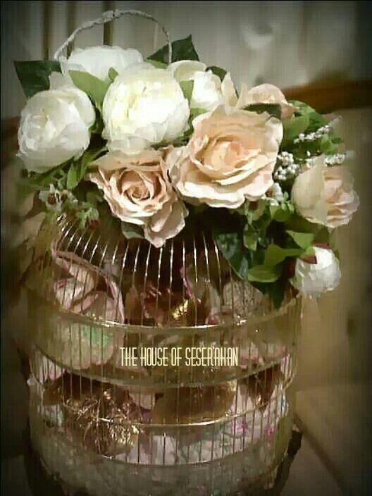 #thehouseofseserahan #birdcage #weddinggiftideas #hantaran #seserahan