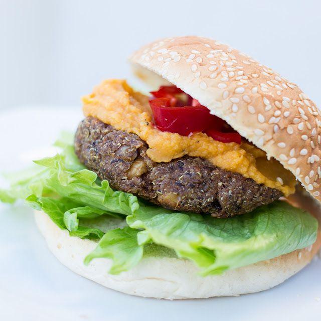 Marias Matglede ♥: Vegetarburger med quinoa og sorte bønner