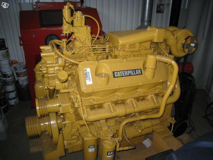 "Caterpillar ""3408"" V-8 diesel engine."
