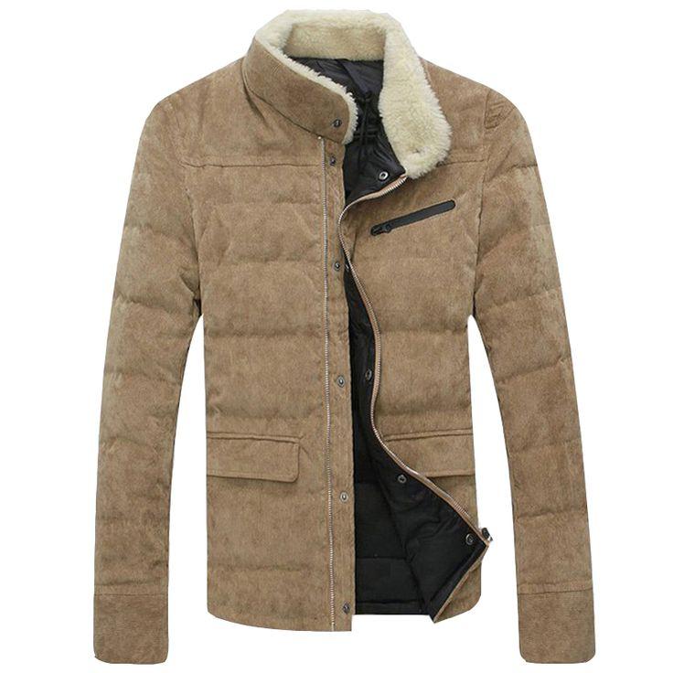 >> Click to Buy << Korean Fashion Slim Fit Men Parka Coats High Quality Winter Warm Coats Top Sale 2017 Designer Mens Down Jackets Slim Fit S169 #Affiliate