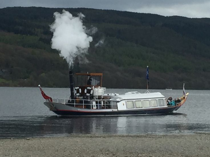 Steamboats on Coniston in the Lake District x