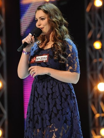 Sophie Tweed-Simmons on X-Factor - LOVE this dress