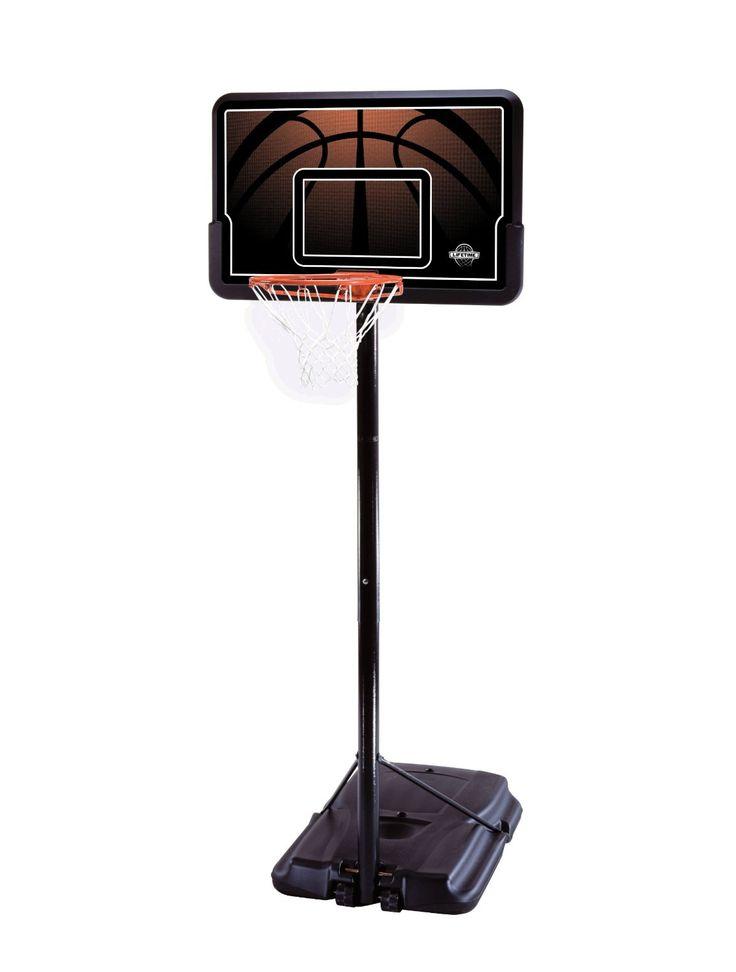 Portable Basketball Hoop Reviews Lifetime 90040 Height Adjustable Portable Basketball System