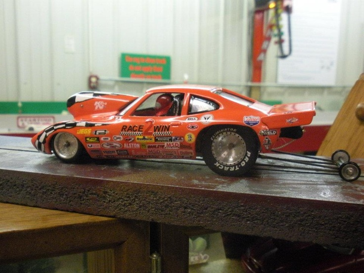 Racing Drag Car Rc Slot