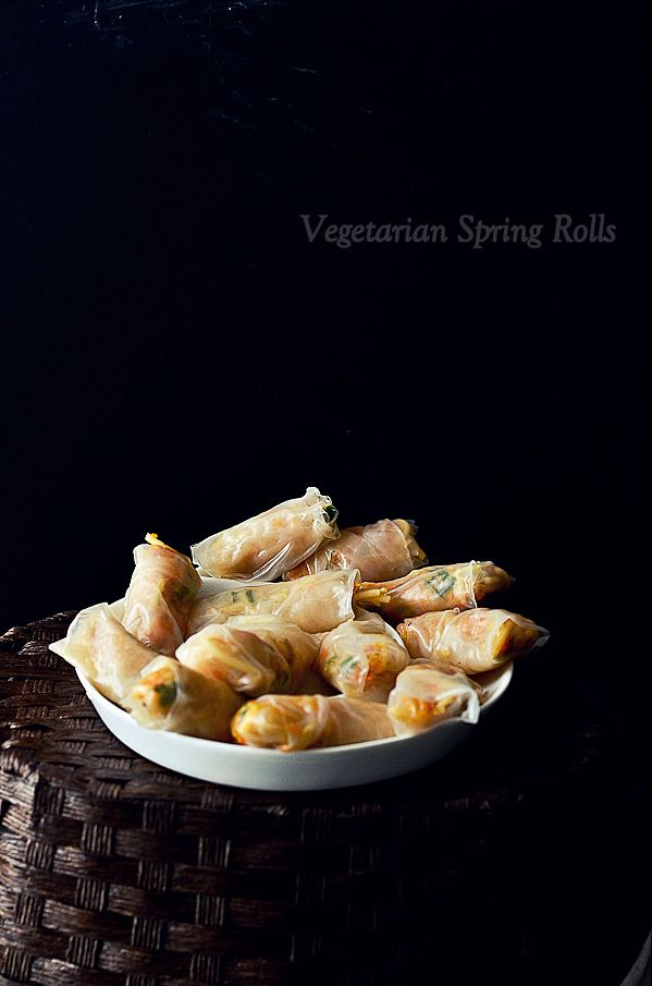 July Recipe Swap: Vegetarian Spring Rolls