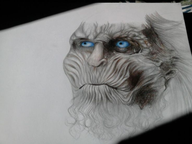 White walker - Game of thrones  Winter is coming.