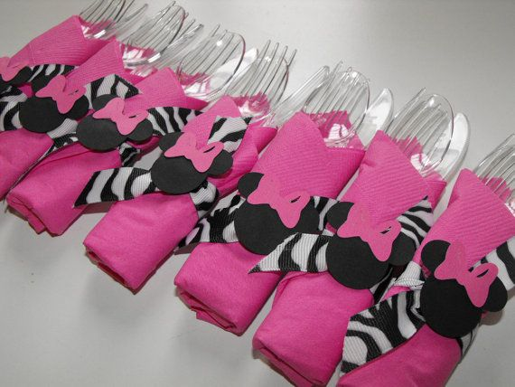 560 best stylish cutlery holder ideas images on pinterest for Baby minnie mouse party decoration