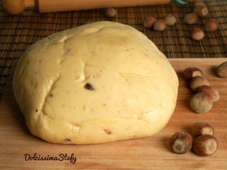 Pasta Frolla alle Nocciole,ricetta - Dolcissima Stefy