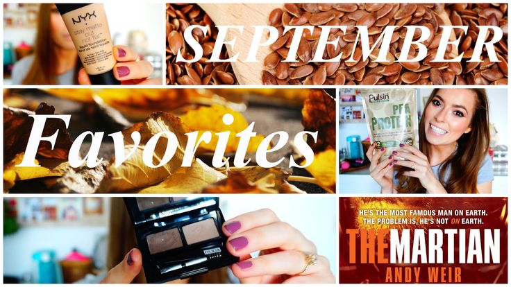 SEPTEMBER FAVORITES 2015 www.purepowerpanda.com #fitness #femalefitness #fabletics #fitgirls #healthylifestyle #favoriten #september #grünersmoothie #grünesmoothies #veganer #veganismus #rezept #kochen #essen #gesund #ernährung #makeup #schminke #monatsfavoriten #monthlyfavorites #verlosung #themartian #andyweir #dermarsianer #pupamilano #pulsin #peaprotein #erbsenprotein #septemberfavoriten #septemberfavorites #food #eat #diet #healthy #healthyliving #healtylifestyle #vegandiet #veganfood