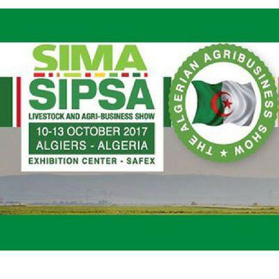 SIMA SIPSA 2017, 10-13 Ekim 2017 Tarihlerinde Makinelerı Fuarı 10-13 Ekim 2017 Algiers Cezayir'de yapılacaktır.Tarım Makineleri Fuarı Seyahat Paketi Sima Sipsa 2017 10.10.2017 - 13.10.2017 tarihleri arasında Cezayir, Cezayir, ilinde gerçekleştirilecek olan SIMA-SIPSA Cezayir - SIMA-SIPSA Fuarı Tarım, Hayvancılık, Tarım ve Hayvancılık sektörlerindeki uluslararası katılımcı ve ziyaretçileri bir araya getirmeyi hedeflemektedir.,