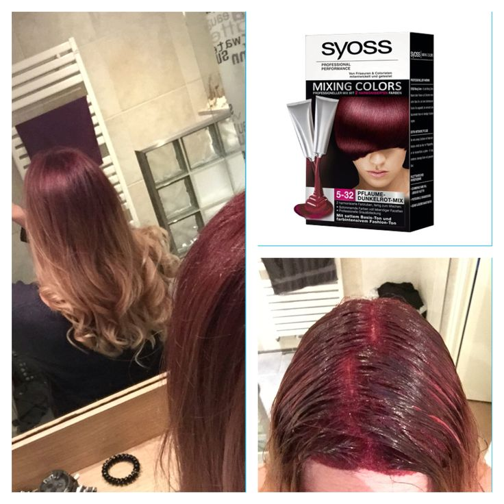 Ombre rose-blonde   Syoss mixing colors 5-32