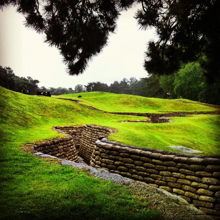 Trenches at Vimy Ridge