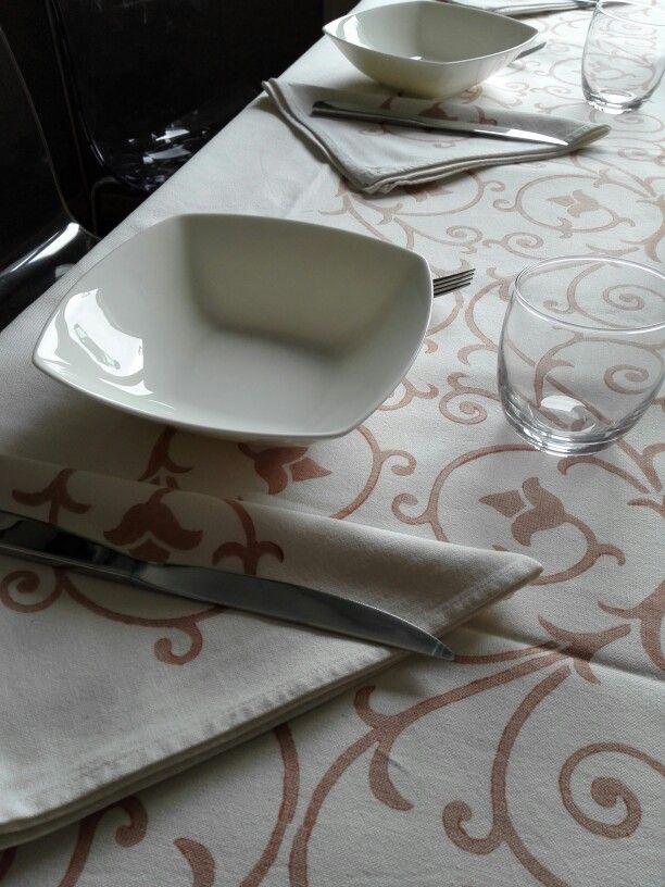 La mia tavola di #Natale -- #white #xmas