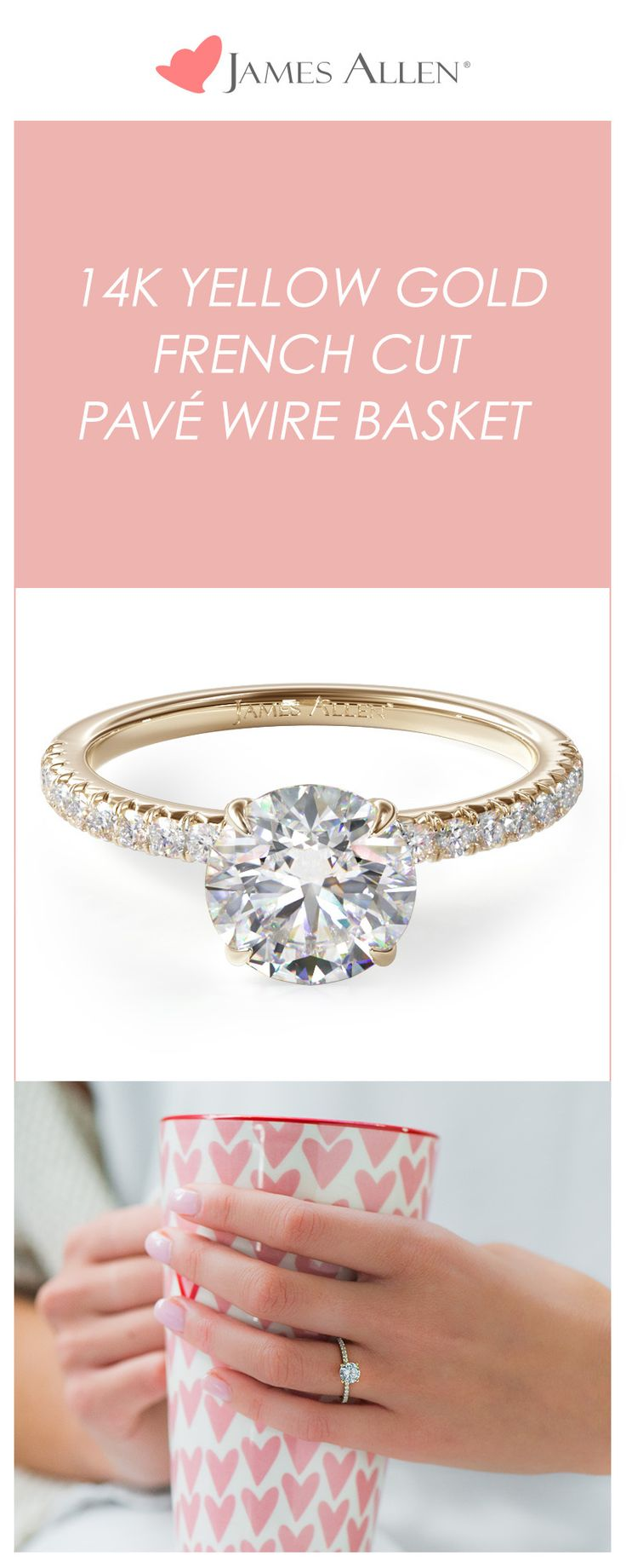 french looks our great shown pin halo engagement center style a radiant is this shape rings princess stone and round cut any with