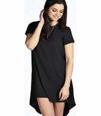boohoo Donna Woven Drape Back Shift Dress - black No off- duty wardrobe is complete without a casual day dress. Basic bodycon dresses are always a winner and casual cami dresses a key piece for pairing with a polo neck , giving you that effortless ev http://www.comparestoreprices.co.uk/dresses/boohoo-donna-woven-drape-back-shift-dress--black.asp