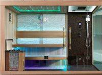 Dry Steam sauna suit hammam combination FS-1388