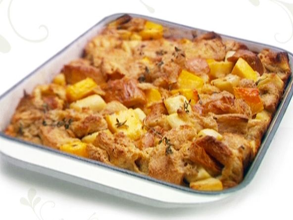 Check out Sweet and Savory Bread Pudding. It's so easy to make ...