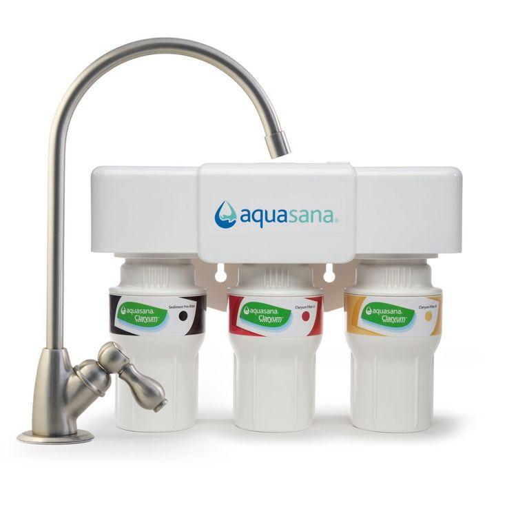 aquasana aq5300 under sink water filter review - Puresource 3 Water Filter