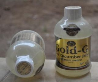 Jelly Gamat Gold G Sea Cucumber - Gold G Sea Cucumber Jelly