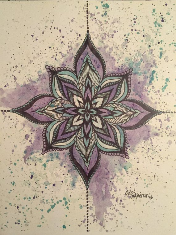 Purple by CLoTheArtist on Etsy