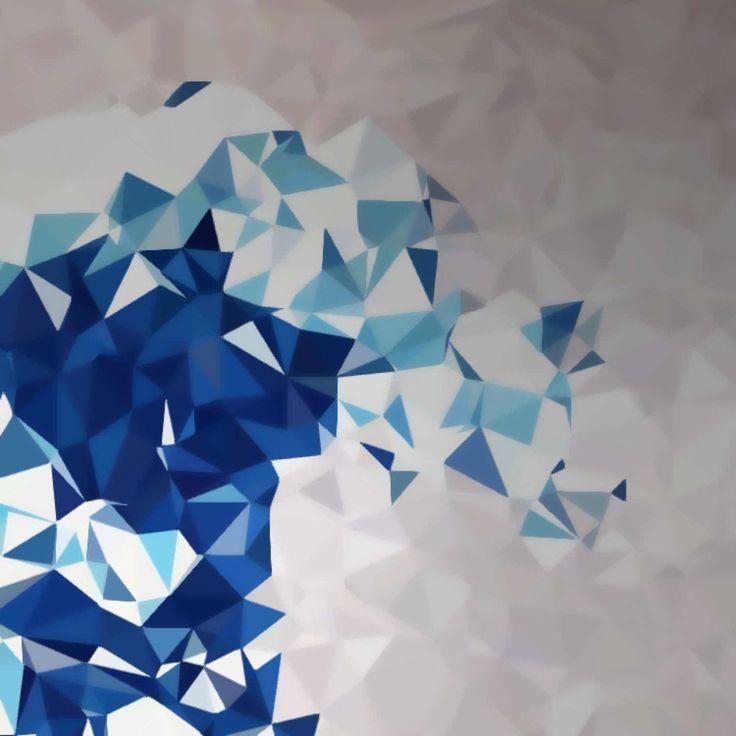 A wave out of triangles made by jhilden13  http://www.mixrt.com/artwork/QXJ0d29yazo1NzVmMmU2YTY0YWFlZDExMDBkNGM3YmY=