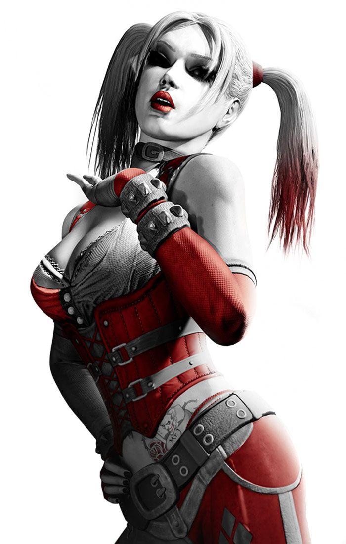 Harley Quinn (Arlequin) est un médecin de l'hôpital psychiatrique d'Arkham. De son vrai nom Dr Harleen Quinzel, elle tombe follement amoureuse du Joker et l'aide à s'évader. Elle devient la première assistante du psychopathe, toujours derrière lui, bien que malmenée et victime de ses excès. On peut y voir un syndrome de Stockholm poussé à l'extrême.
