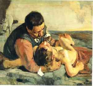 The Good Samaritan  Ferdinand Hodler