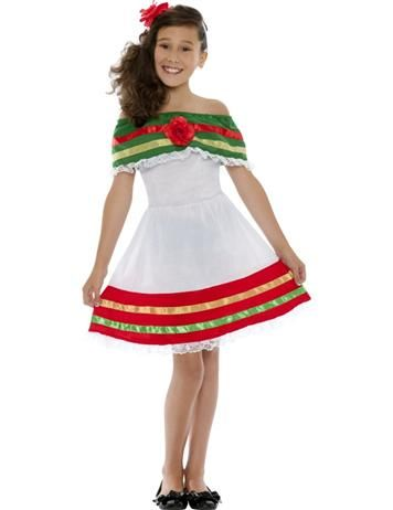 a lovely childrens costume for a mexican or around the world themed halloween - Mexican Themed Halloween Costumes