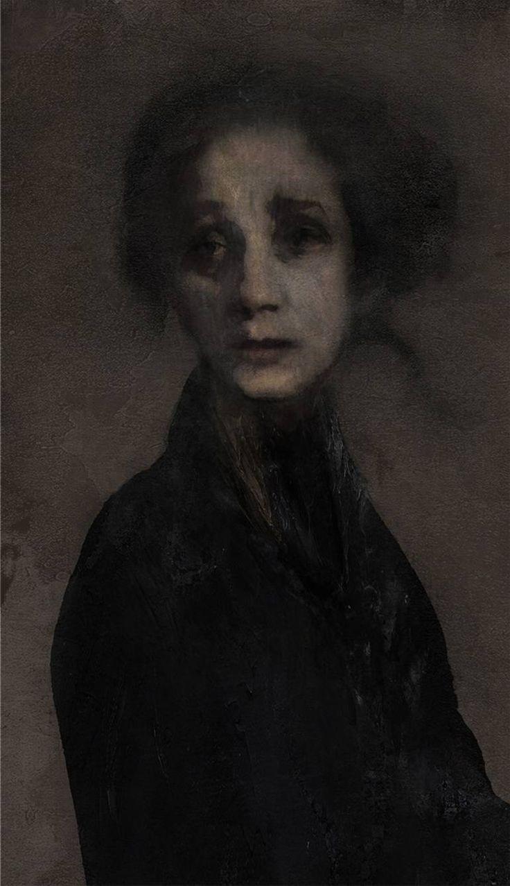 Anna Akhmatova portrait Aleck Chekini