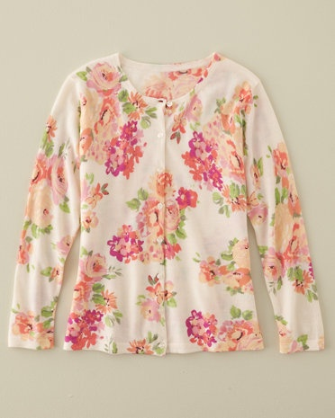 Image result for garnet hill grey floral cardigan