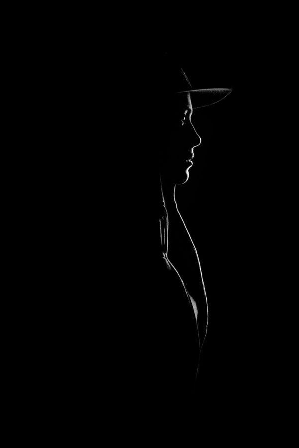 Profile / brilliant use of light & shadow by Freek Bekaert
