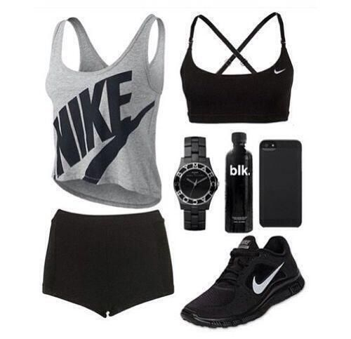 ♡ Women's Nike Workout Tops | Fitness Apparel | Must have Workout Clothing…