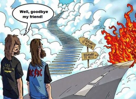 It's been an awesome ride... Stairway to Haven/Highway to Hell