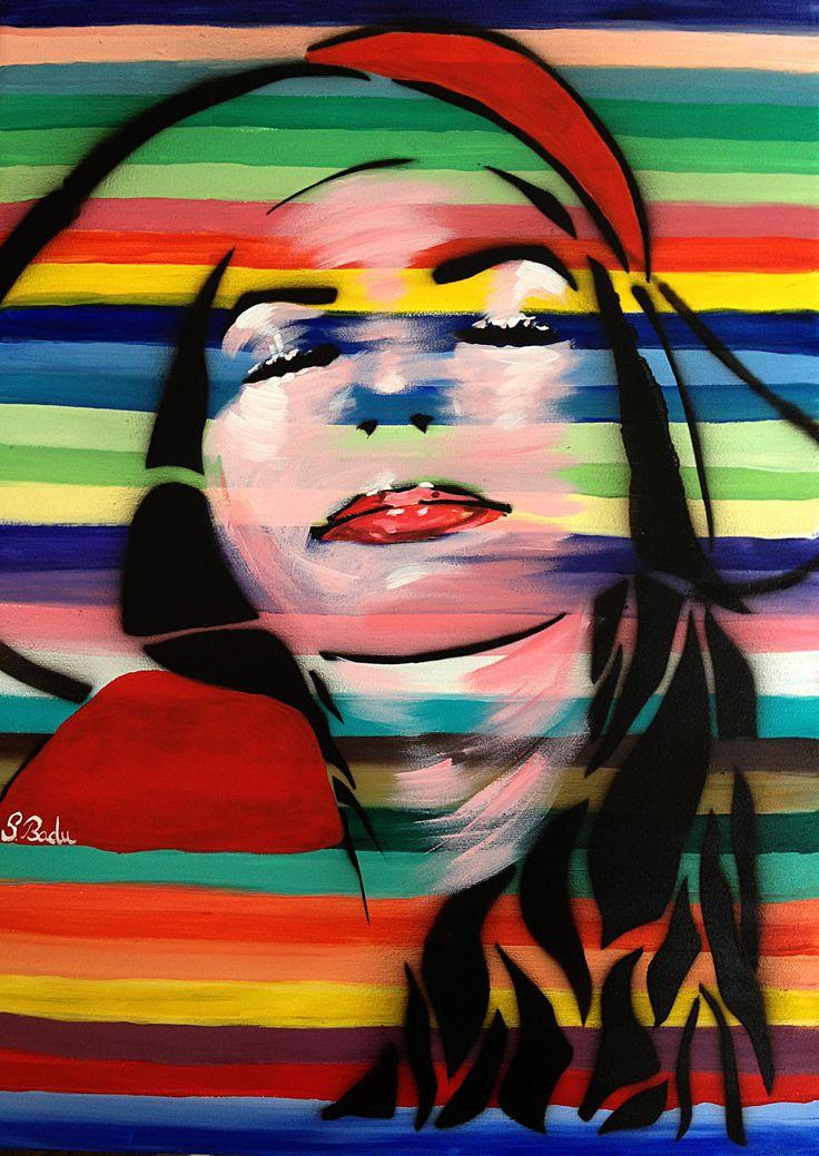 Self-portrait series Canvas 50x70 (for sale) https://www.facebook.com/pages/Jolie-Art-Home-Design/165204490349079?ref=ts&fref=ts www.newartists.se