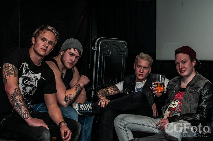 As We Burn. Metalcore band.