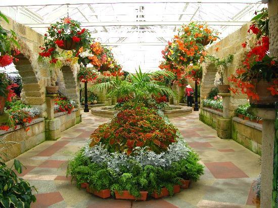 The Conservatory, Hobart Botanical Gardens.