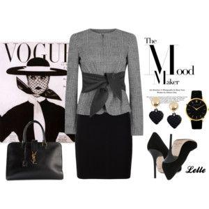 Womens Smart Jackets Armani Collezioni Plaid Tie Front Cotton Blend Ja...